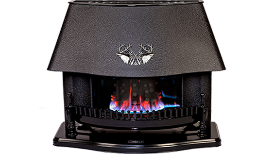 Modern arcuate MC-110 fireplace